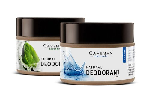 Caveman Naturals deodorant collection
