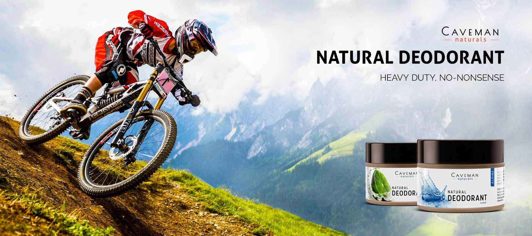 Organic Natural Deodorants in India for men & women